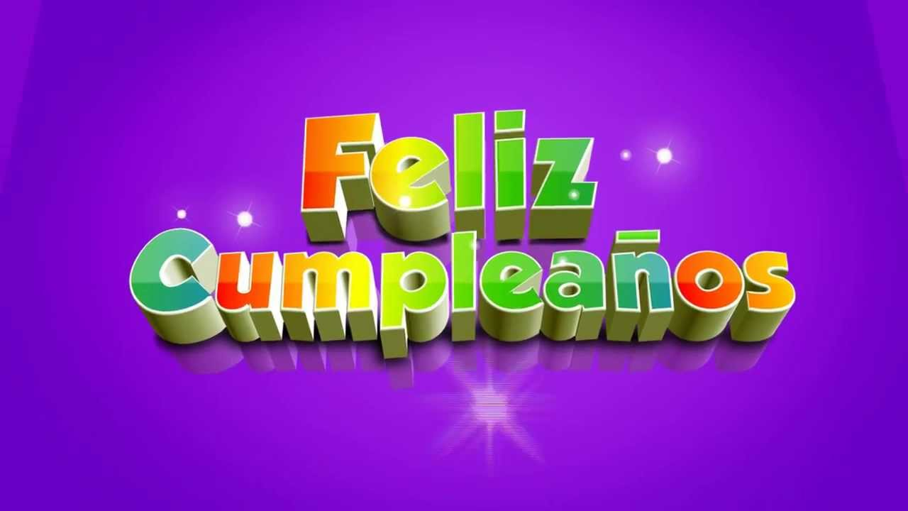 Feliz cumpleaos 3D Video Background  Fondo de video  YouTube