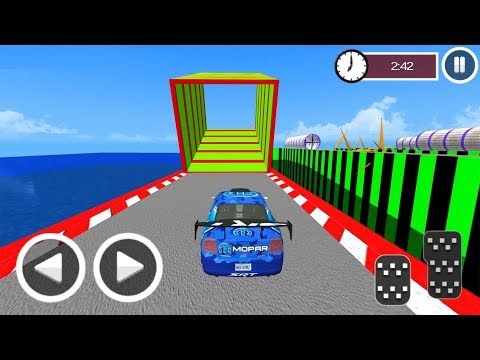 Ultimate Racing Derby Fast Stunts Blue Sports Car Game 3D #1 Android