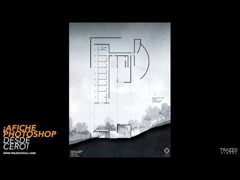 AFICHE ARTÍSTICO PHOTOSHOP ARQUITECTÓNICO / POST PRODUCCIÓN