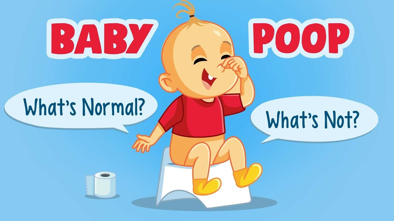Baby Poop Types, Frequency, Colour & What It Means