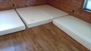 "Zinus Mattress Review(Memory Foam Green Tea Mattress – 8"" Twins & 10"" Queen Sizes This video is a review of the Zinus Memory Foam Green Tea Mattress. We purchased 4 twin ..., 2016-07-21T15:53:24.000Z)"