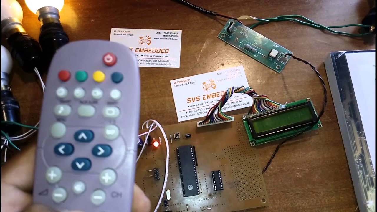 Home Automation Using Tv Remote Controller Ir Infrared Extender Circuit Control