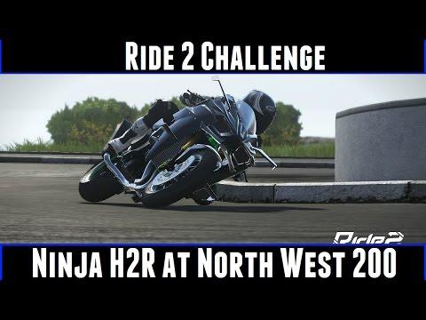 Ride 2 Challenge Ninja H2R At North West 200