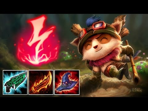 LOW ELO TEEMO SUPPORT CARRY HIS TEAM WITH 28 KILLS!!