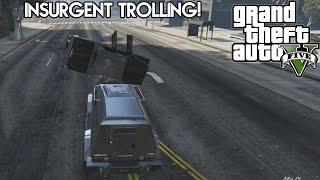GTA 5 Online: Insurgent Trolling! (HD)