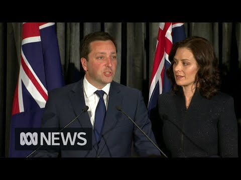 Victorian election: Liberal leader Matthew Guy concedes defeat   ABC News