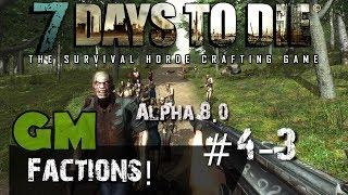 7 Days to Die Alpha 8 - S:4 Ep:3 School Base