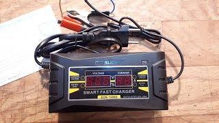 Умная зарядка для автомобильного аккумулятора с Алиэкспресс.(, 2017-10-16T18:31:29.000Z)