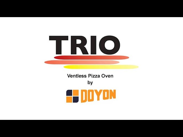 Doyon's Ventless TRIO Oven Features