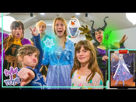 Disney Frozen 2! Elsa And Anna Pretend Play With Kate And Lilly And The Osmo Super Studio!