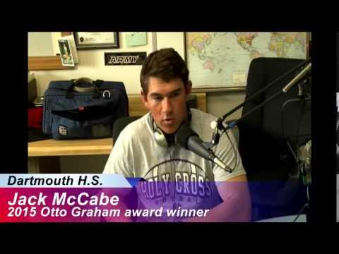 Jack McCabe 2015 Otto Graham award winner