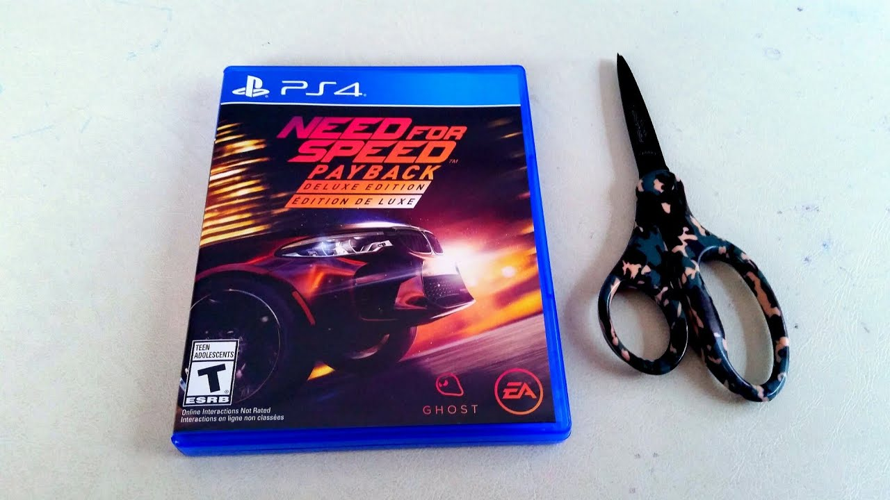 Need For Speed Payback Deluxe Edition Unboxing Youtube