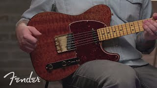 Josh Smith Plays The Red Mahogany Top Telecaster I Rarities Collection I Fender
