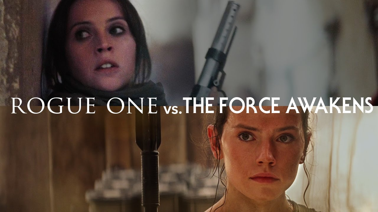LESSONS FROM THE SCREENPLAY: Rogue One vs. The Force Awakens