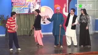 Iftikhar Thakur and Sajan Abbas New Pakistani Stage Drama  Shurli  Full Comedy Clip 2017