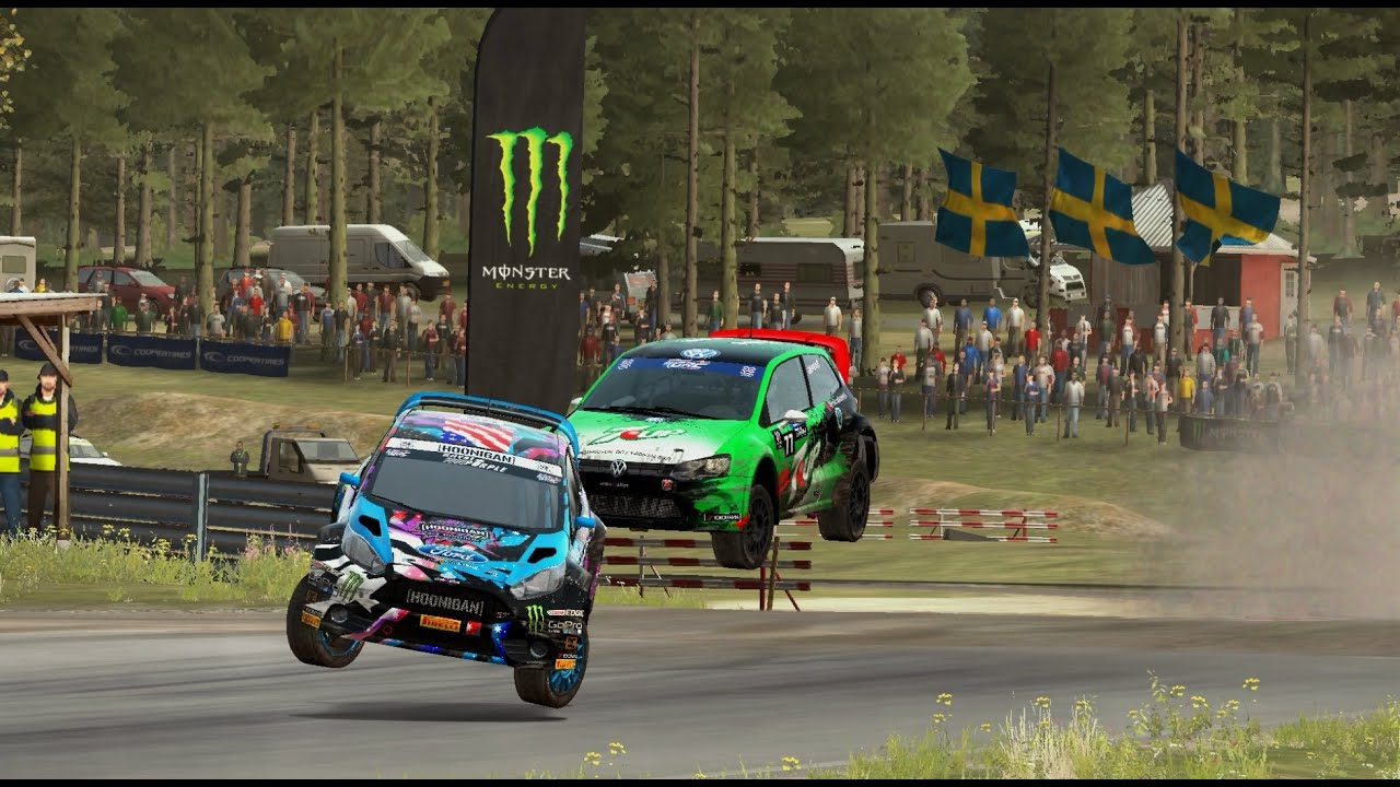 scott speed vs ken block rallycross dirt rally youtube. Black Bedroom Furniture Sets. Home Design Ideas