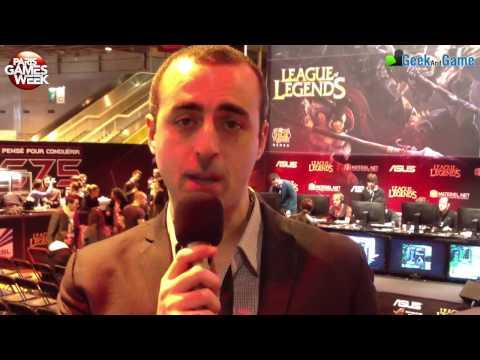 PGW 2012 Karim Ouahioune - Republic of gamers - Asus France