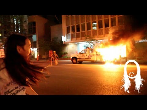Riot in the Streets of Montreal May 20 2012