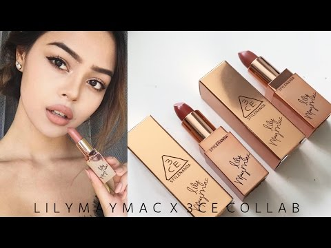 lilymaymac-x-3ce-stylenanda-lipstick-collab-•-review-+-dupes