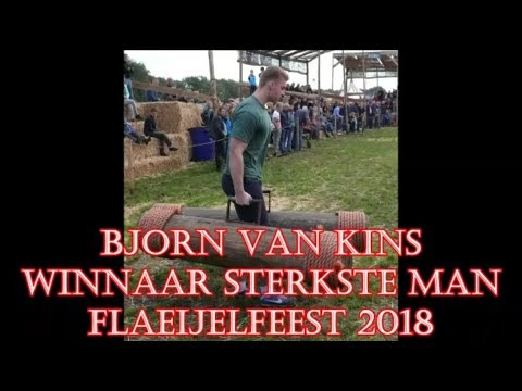 Bjorn Van Kins (18 Jaar) Winnaar STERKSTE MAN FLAEIJELFEEST 2018.