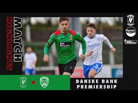 Glentoran Coleraine Goals And Highlights