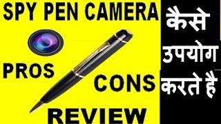 Video how to use hidden spy pen camera !! Pros & corns ! Review download MP3, 3GP, MP4, WEBM, AVI, FLV Juni 2018