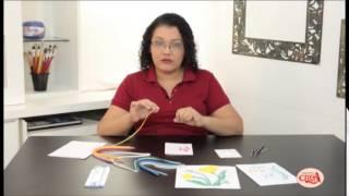 Aprenda um lindo cartão com a técnica do quilling  com a facilitadora Jeovana Nasco.