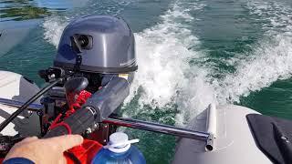 Unique Open Transom Inflatable Catamaran