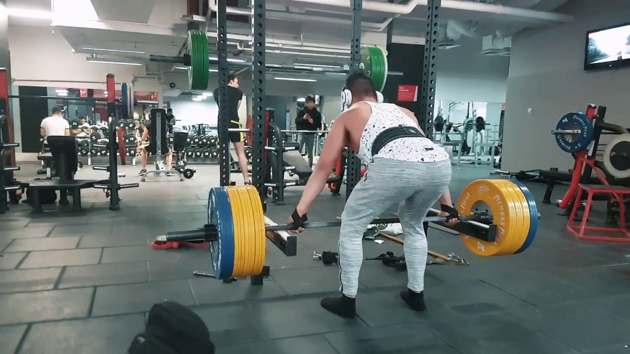 Snatchgrip Rack Pulls 150kg