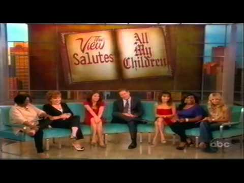 All My Children Tribute on The View 92311 4 of 6