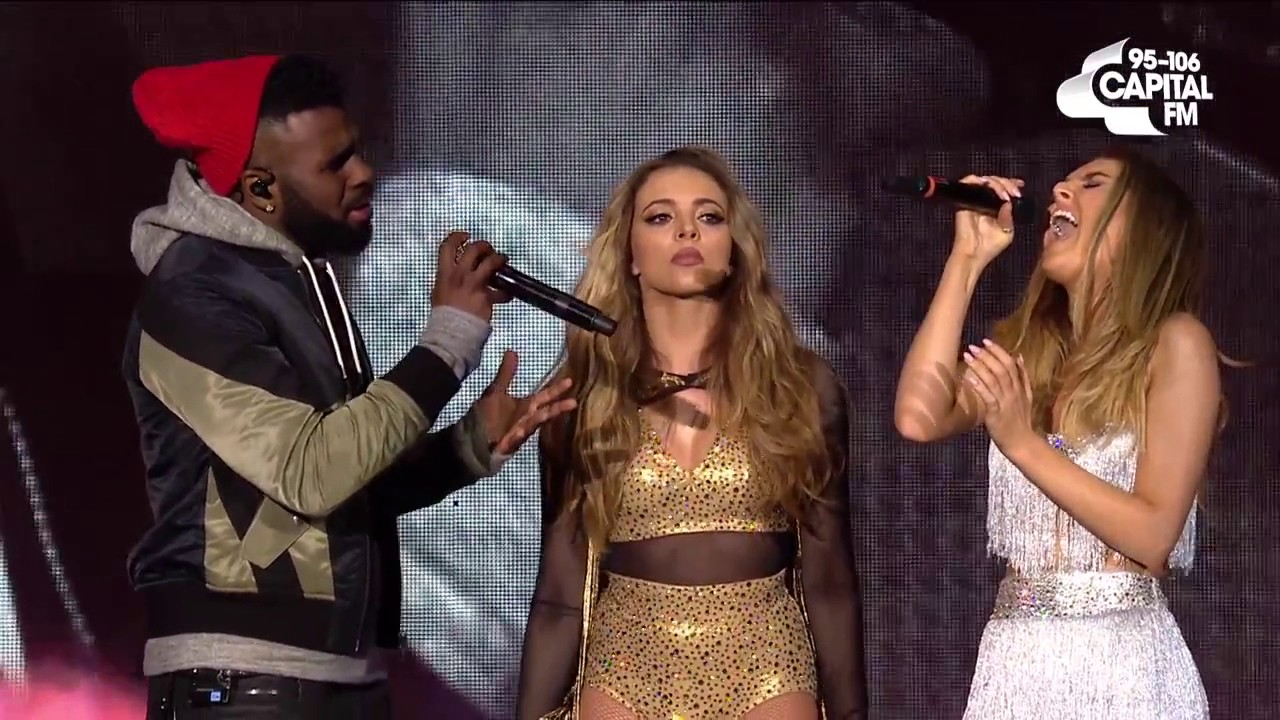 Little Mix ft Jason Derulo 'Secret Love Song' (Live At The Jingle Bell  Ball) (AUDIO HD)