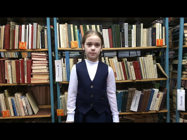 Изображение предпросмотра прочтения – СофияКирсанова читает произведение «Черемуха» С.А.Есенина