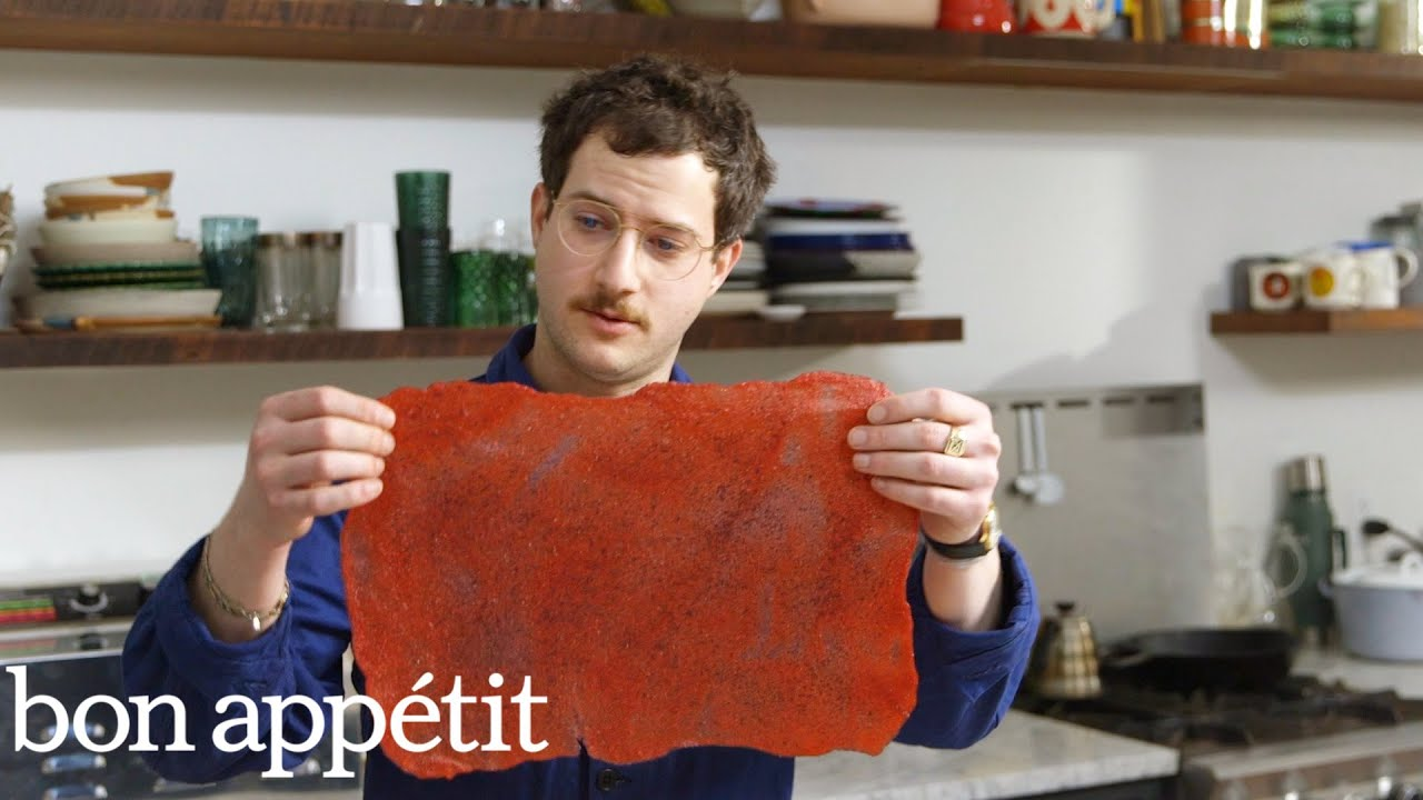 Making Fruit Roll-Ups With Kombucha SCOBY | Bon Appetit