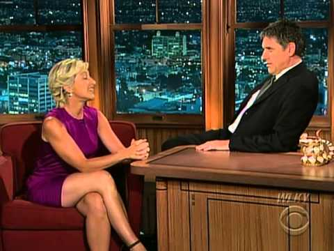 Late Late  with Craig Ferguson 832009 Edie Falco, Les Stroud, Lisa Landry