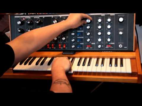 MiniMoog Old School Los jaivas Sound