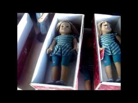 American Girl Doll Benefit Sale 2013 McKenna & Kanani