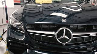 Coating a 2018 E63 AMG Wagon - by Reflected Images Custom Detailing