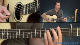 Gambar cover Strawberry Fields Forever Guitar Lesson - The Beatles