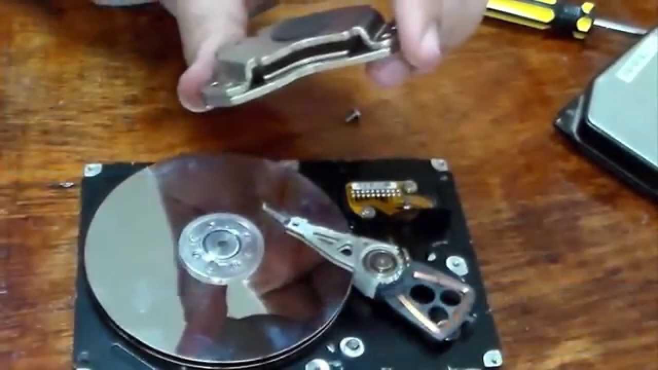 فك مكونات الهارد ديسك من الداخل و كيف يعمل How A Hard Drive Works