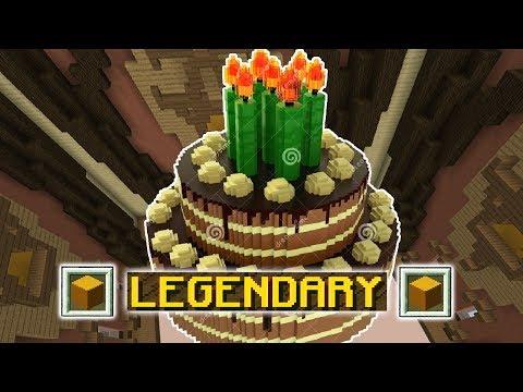 TRIPLE LEGENDARY!!! (Minecraft Build Battle) thumbnail