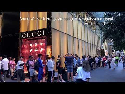Sydney Australia: Black Friday Chaos!