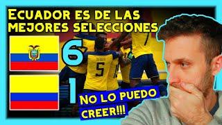 URUGUAYO REACCIONA a ECUADOR vs COLOMBIA 6-1 😱 GONZALO PLATA *eliminatorias sudamericanas qatar 2022