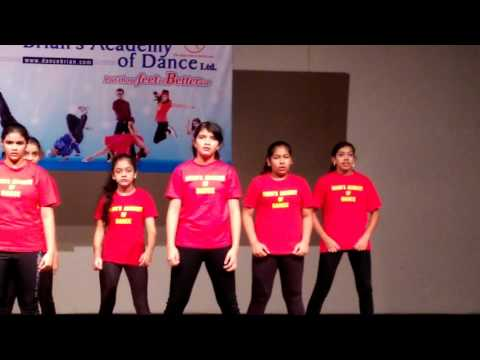 Brians Academy  of dance Special  batch, 2016