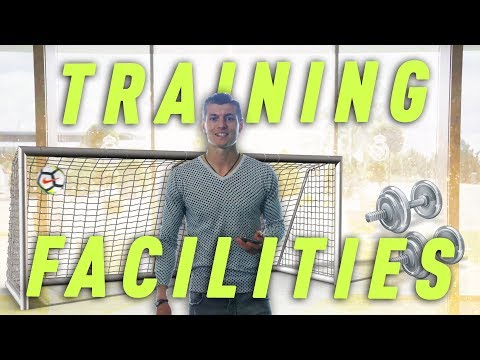 Toni Kroos - Showing Real Madrid's Training Faciliites | HD