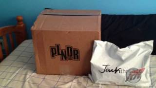 JackThreads & PLNDR unboxing - (Radii Straight Jacket Army Green & Pullover Shirt)