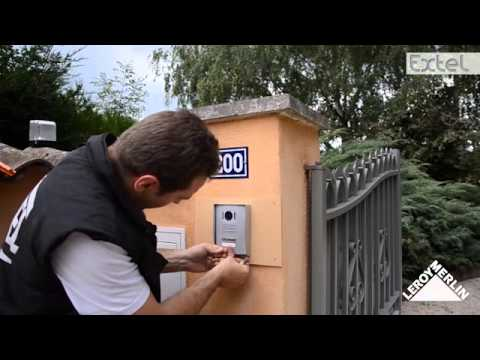 Installer le visiophone Extel Memo 2 - YouTube