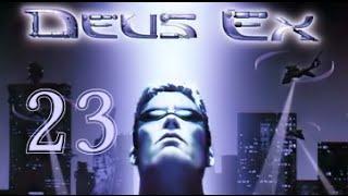 Let's Play Deus Ex #023 - Flucht! Flucht? Flucht! [720p60]