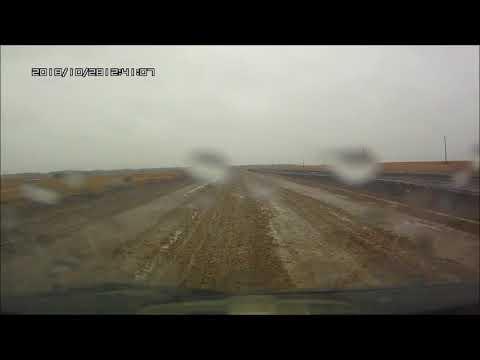 дорога из Приозерки (озеро Чертолы) Тюкалинский район Омской области , октябрь 2018 г