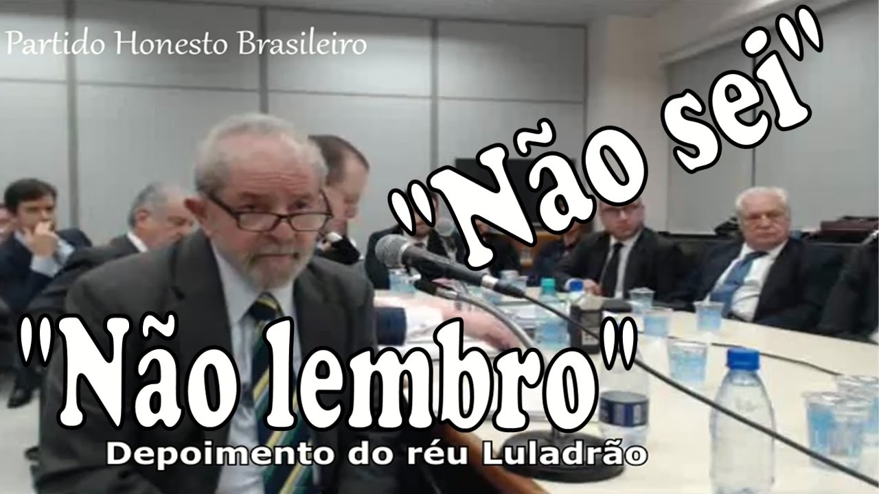 FESTIVAL DO NÃO SEI - Melhores momentos: Lula X Ministério Público