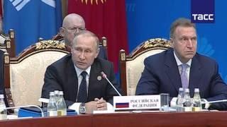 Путин ответил на нападки главы украинской делегации на заседании Совета глав государств СНГ